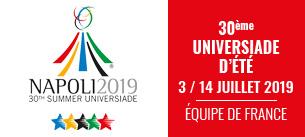 FFSU – 30e Universiades Naples !