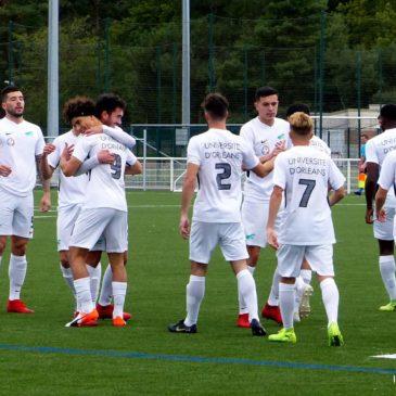 L'Élite Football masculin de l'Université d'Orléans en terre strasbourgeoise !